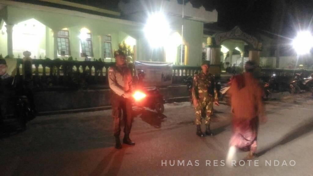 Amankan Sholat Tarawih, Satuan Sabhara intensifkan pengamanan