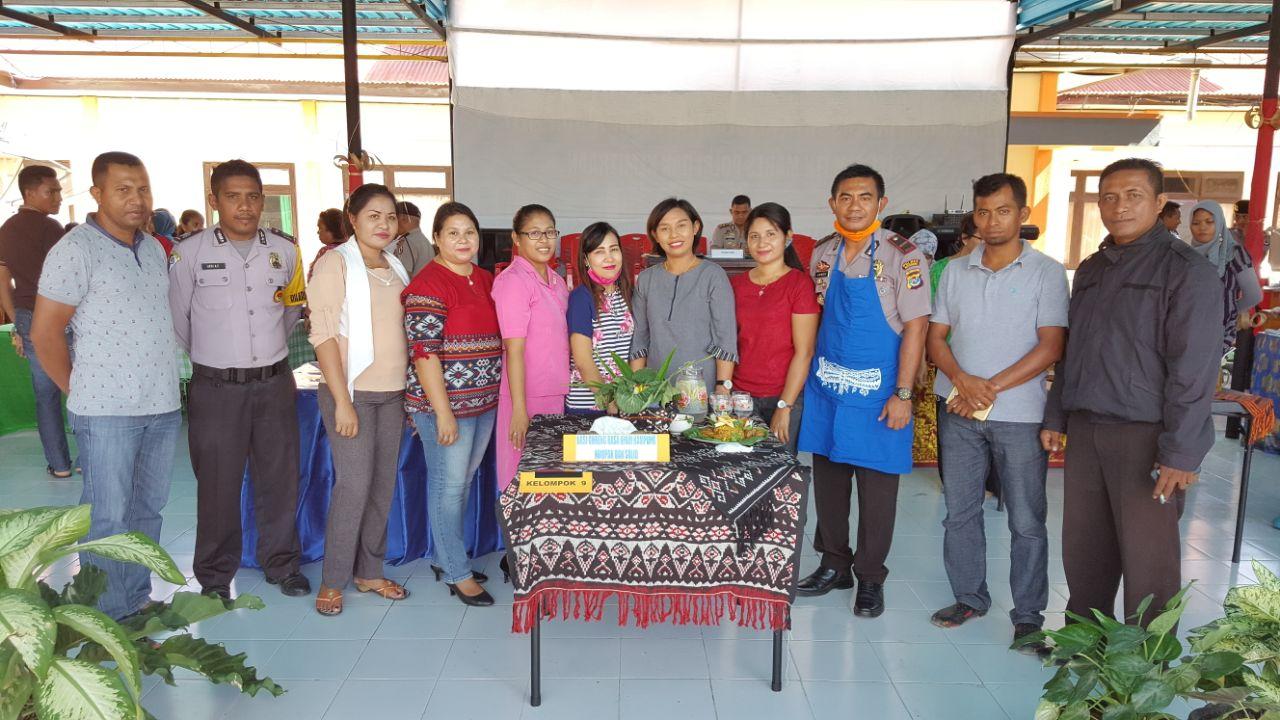 Lomba masak meriahkan HUT Bhayangkara ke 71 tingkat Polres Rote Ndao