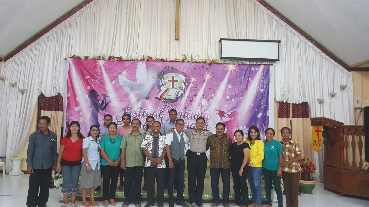 Menjalin kemitraan, Kapolres Rote Ndao kunjungi tokoh agama