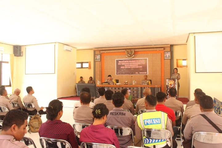 Bekali kemampuan personel dalam operasi, personel terlibat ikuti Lat Pra Ops Lilin Turangga 2018