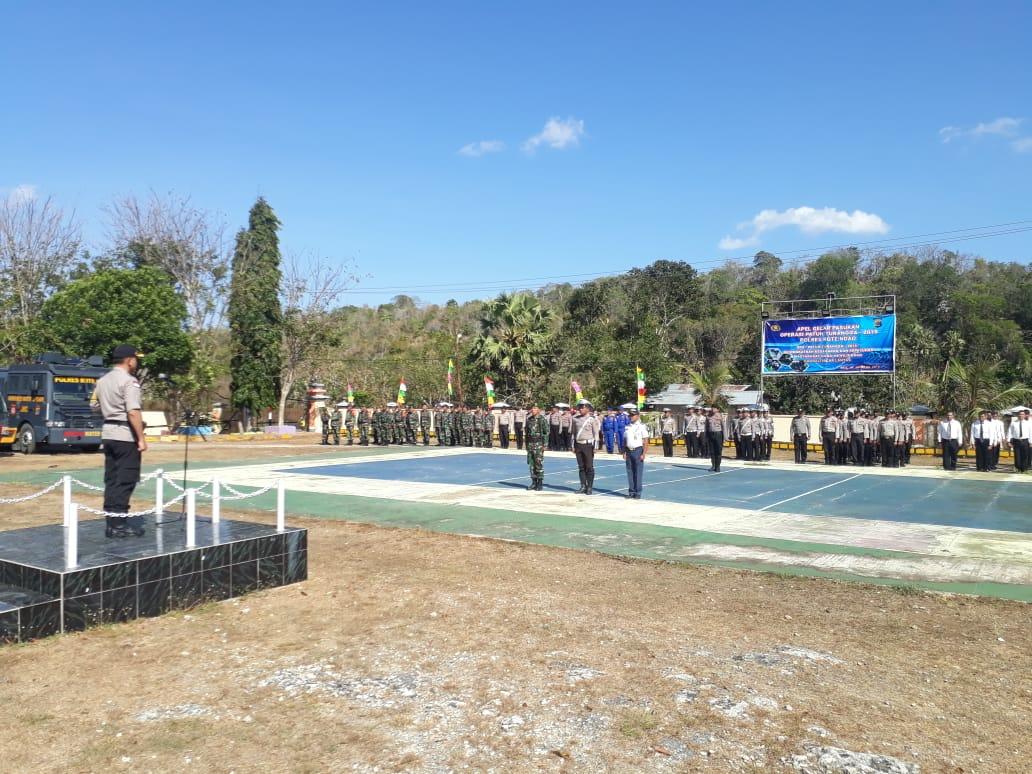 Operasi Patuh Turangga 2019 mulai digelar; Kapolres Rote Ndao Pimpin Apel Gelar Pasukan