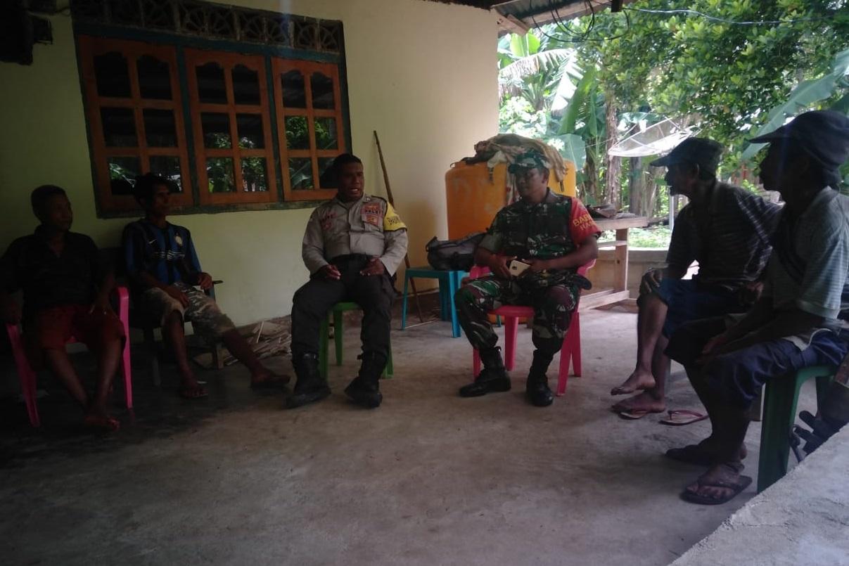 Sapa Dan Silaturahmi, Jadi Jurus Jitu Bhabinkamtibmas Desa Nggelodae