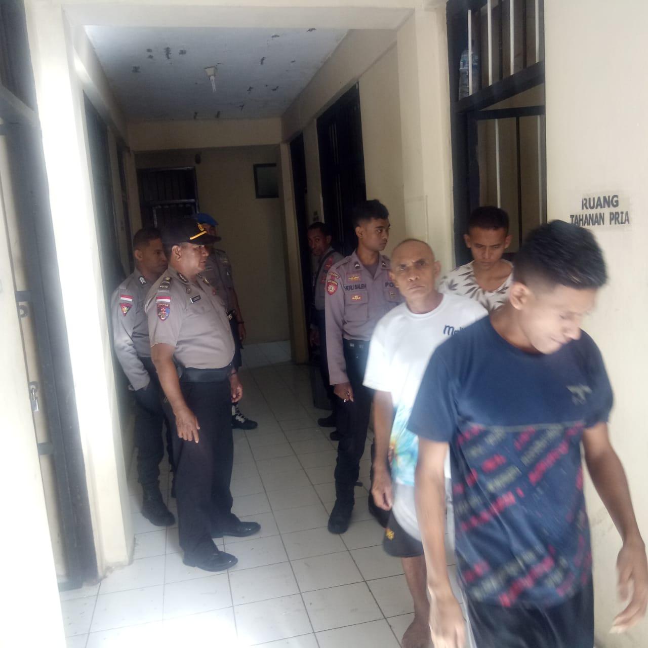 SPKT Polres Rote Ndao Rutin Laksanakan Pengecekan Tahanan
